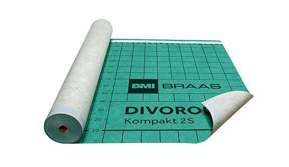 Braas Divoroll Kompakt 2S Unterdeckbahn BxL 1,50x50 m