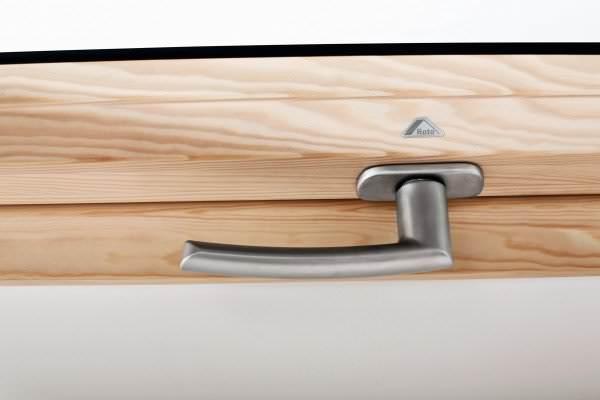 Roto ZUB GRF Standardgriff für Roto Holzfenster WDF R6/R8 / WSA R8 silber