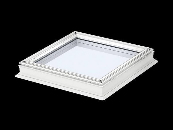 VELUX Flachdach-Fenster Basiselement f. Lichtkuppel fest verglast CFP