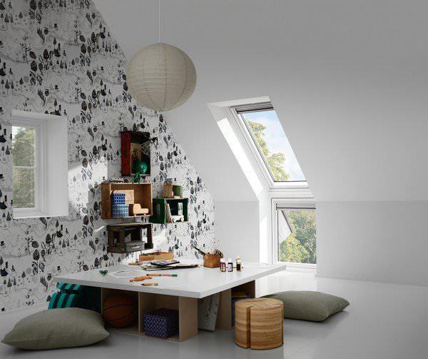 """VELUX Dachfenster VIU 0166 Kunststoff Zusatzelement """"Wand"""" ENERGIE PLUS Kupfer"""