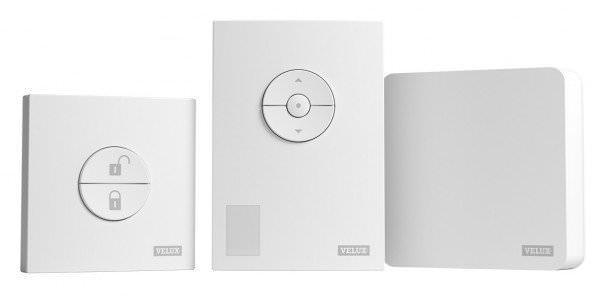 VELUX KIX 300 Active Paket Internet Gateway, Raumklimasenor und Schalter Abwesenheit