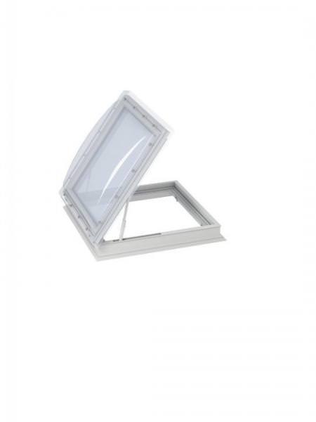 VELUX Flachdach-Fenster Ausstieg CXP 0473Q Basis-Element manuell öffnend Kunststoff-Isolierglas
