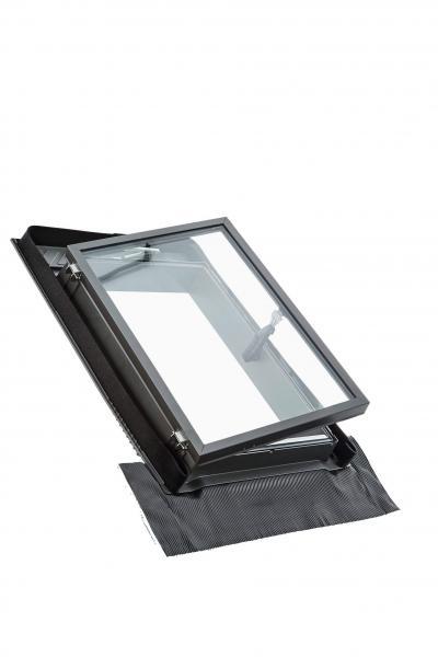 Roto Dachfenster WDA R25 Kunststoff Designo R2 Wohndachausstieg 2-fach Standard Aluminium