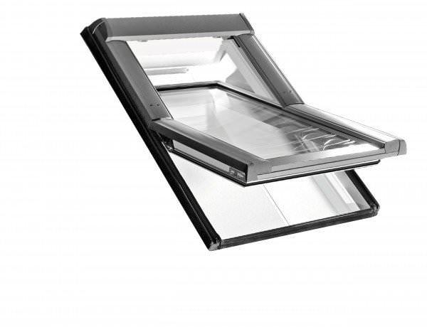 Roto Dachfenster WDF R69P Kunststoff Designo R6 Schwingfenster blueTec Plus Kupfer