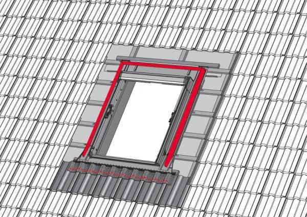 RotoQ MSB Montagezubehör Schaumstoffkeile und Butyldichtband