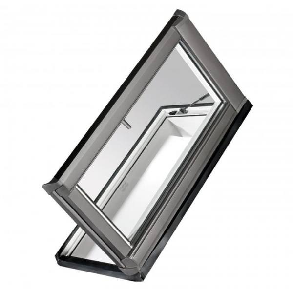 Roto Dachfenster WDA R38G Kunststoff Dachausstieg links blueLine Plus Sun Aluminium