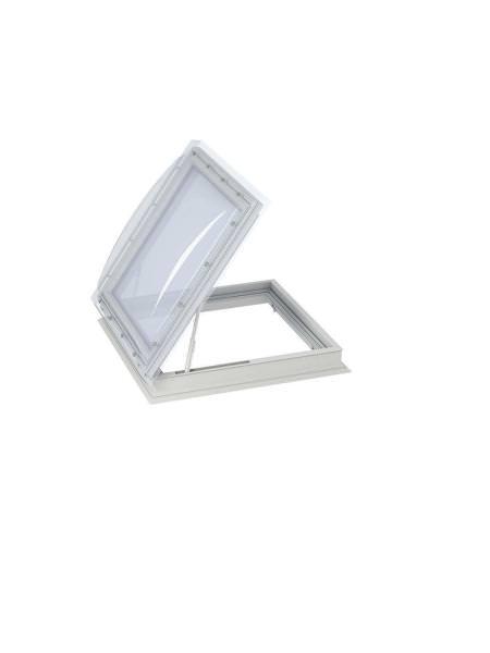 VELUX Flachdach-Ausstiegsfenster manuell zu öffnen CXP