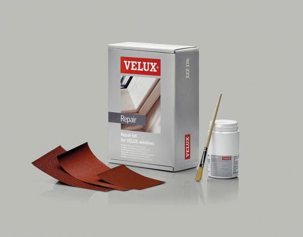 VELUX ZZZ 176 Lack-Pflege-Set farblos für klar lackiertierte VELUX Holzfenster