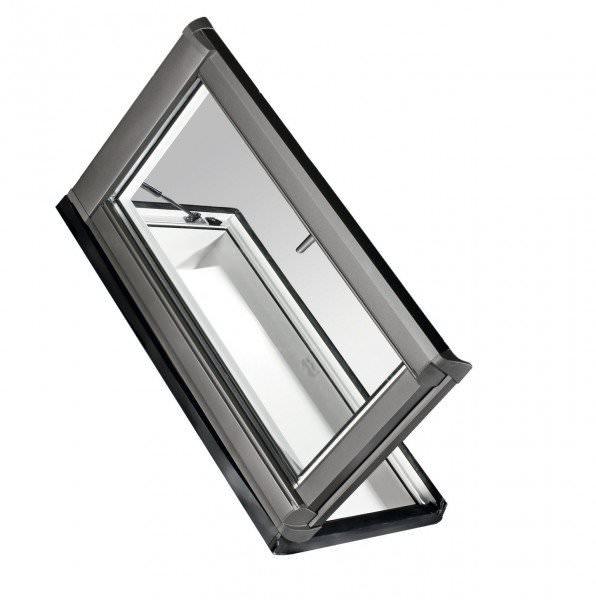 Roto Dachfenster WDA R38 Kunststoff Designo R3 Dachausstieg rechts blueLine Plus Aluminium