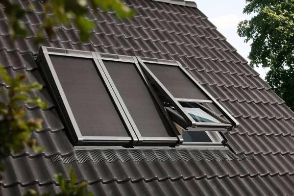 VELUX Solar-Hitzeschutz-Markise Tageslicht für 3-in-1 MSLS
