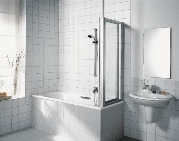KERMI Seitenwand VARIO 2000 für Badewanne