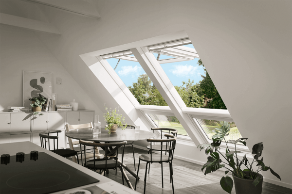 VELUX Dachfenster GPU 006621 Kunststoff INTEGRA Elektrofenster Energie Plus Aluminium