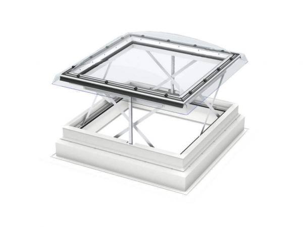 VELUX RWA Flachdach-Fenster CSP 1073Q Basis-Element Elektrisch zu öffnend Kunststoff-Isolierglas