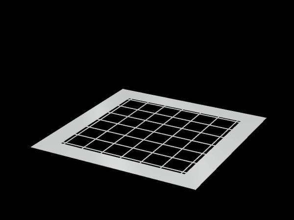 VELUX Stahlgitter zur Durchsturzsicherung für Flachdach-Fenster ZZZ 257