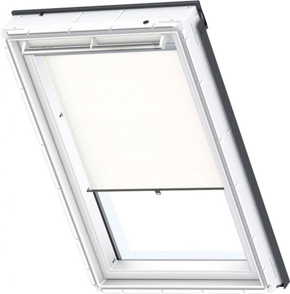 VELUX Sichtschutzrollo mit Haltekrallen für ältere Kunststofffenster RHU