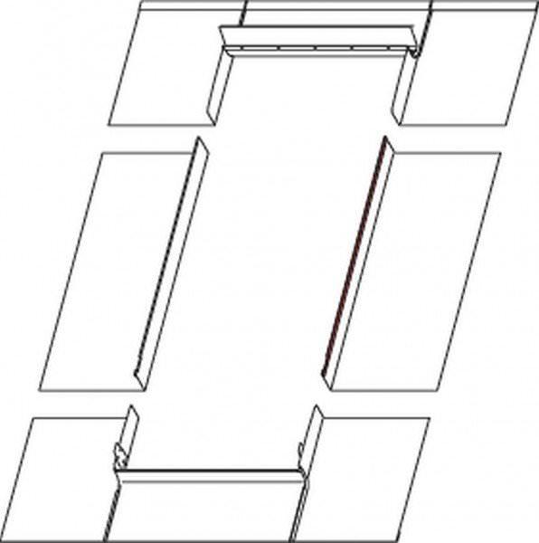 Roto EDR Rx MET Eindeckrahmen Metalldacheindeckung Stehfalz/Doppelstehfalz wärmegedämmt Kupfer
