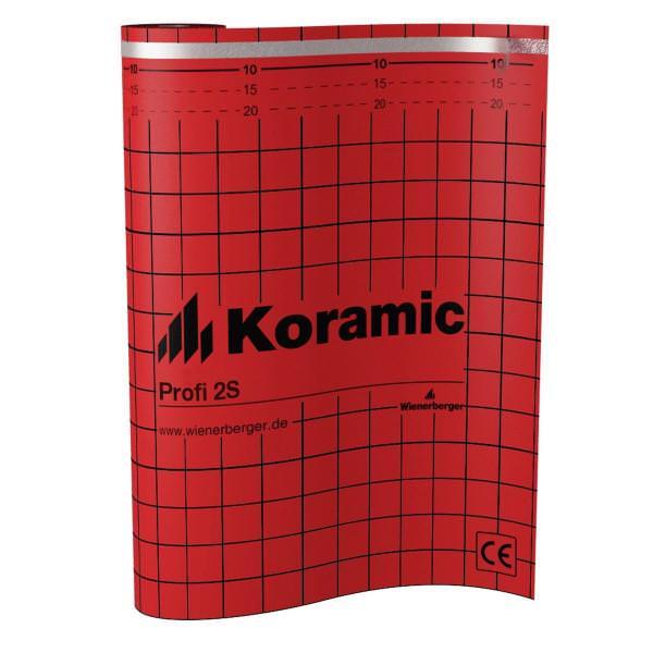Koramic Profi 2-S Unterdeckbahn BxL 1,50x50 m 20 Rol./Pal.
