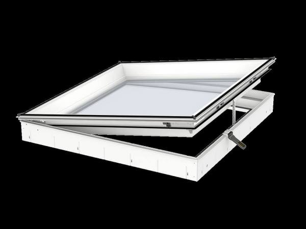 VELUX Flachdach-Fenster Basiselement f. Konvex- u. Flach-Glas