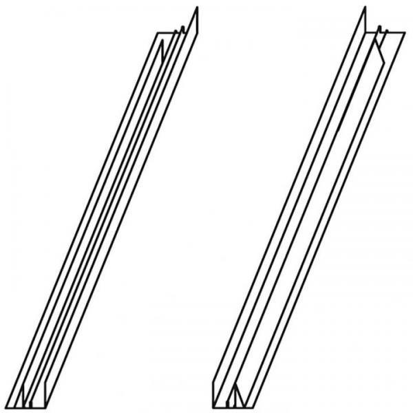 VELUX ETW 0300H Zwischenrinne 16 cm Ziegel hoch/Welle Titanzink