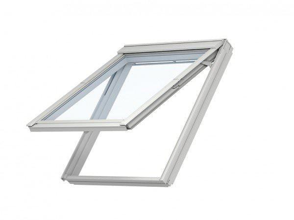 VELUX Dachfenster VKU 0074 Kunststoff Klapp-Schwingfenster THERMO AUSTAUSCH Aluminium
