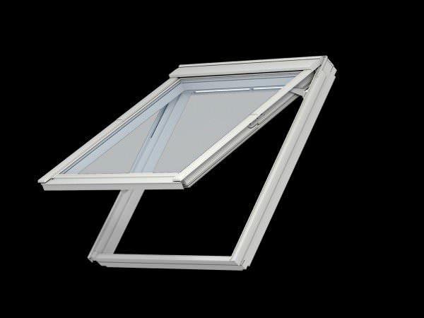 VELUX Dachfenster VKU 0059 Kunststsoff Klapp-Schwingfenster THERMO-STAR Aluminium
