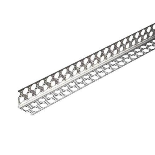 Prima Alu-Eckschutzschiene 90 Grad Nr. 9109 L 250 cm 25/25/0,4 mm