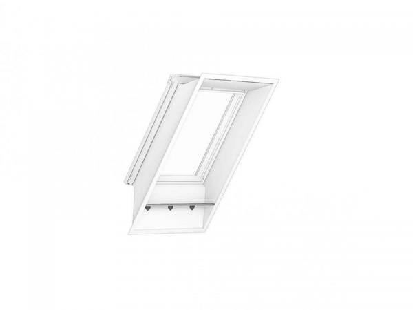 VELUX LFI 2000 Fensterbank MDF Platte weiß für Dächer ohne Abseite