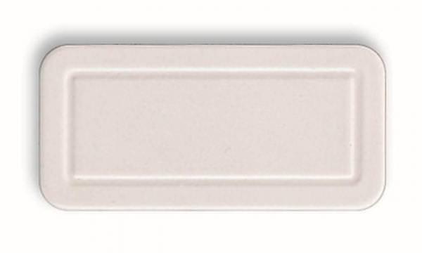 Roto ZUB ADP Abdeckplatte für Griff für Roto Dachfenster R8/R6 weiß