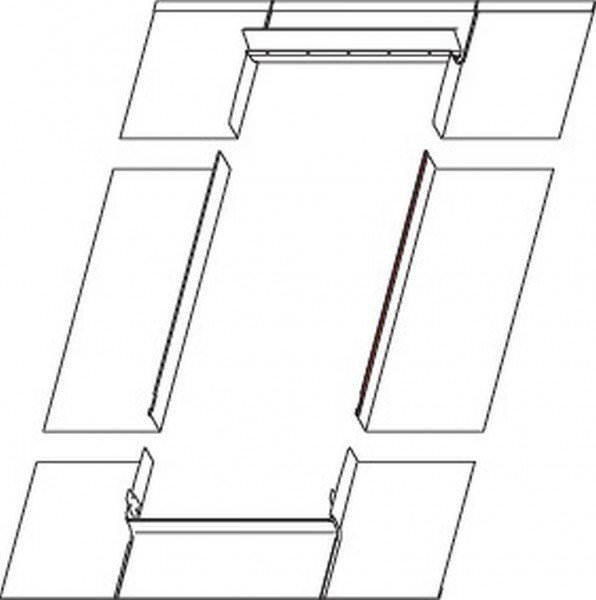 Roto EDM Eindeckrahmen Metall Stehfalzdach Kupfer