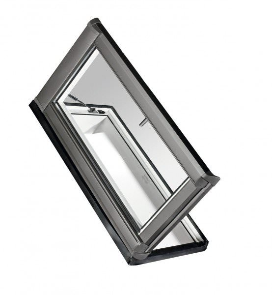 Roto Dachfenster WDA R89G Kunststoff Designo R8 Dachausstieg links blueTec Aluminium