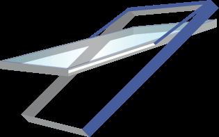 Hoch-Schwingfenster