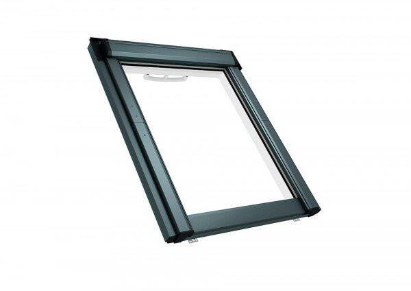Roto Dachfenster Q4 K2C Kunststoff Schwingfenster Comfort Titanzink