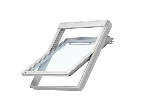 VELUX Dachfenster VL 3059 Holz Schwingfenster klar lackiert THERMO-STAR Aluminium