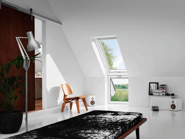 """VELUX Dachfenster VFE 2162 Holz Zusatzelement """"WAND"""" Energie Schallschutz Kupfer"""