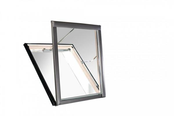 Roto Dachfenster WRA R58 Holz Designo R5 für Rauch- und Wärmeabzugsanlagen blueLine Plus Kupfer