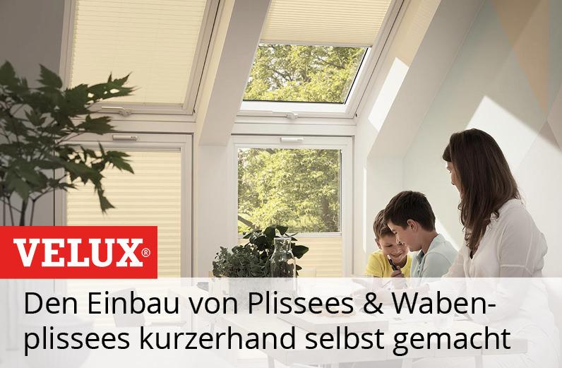VELUX Plissee & Wabenplissee FHL, FHC Einbauvideo