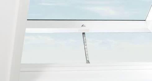 Roto ZEL STG Nachrüstsatz Designo Flachdachfenster WDT Solar Holz/Kunststoff