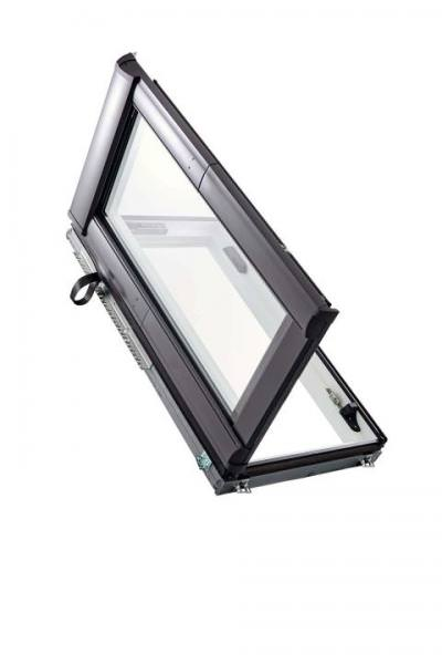 Roto Dachfenster WDA R88C Kunststoff Designo R8 Wohndachausstieg 2-fach Comfort Aluminium Links
